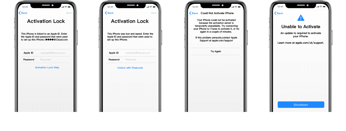 bypass icloud activation lock screen