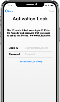 forget original apple id and password